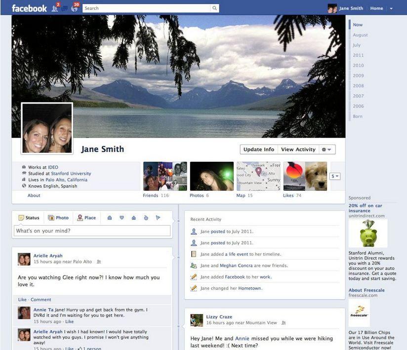 historias perfil Facebook