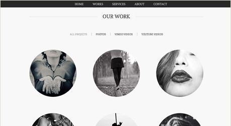 diseño web minimal