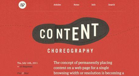 contenidos en usabilidad web