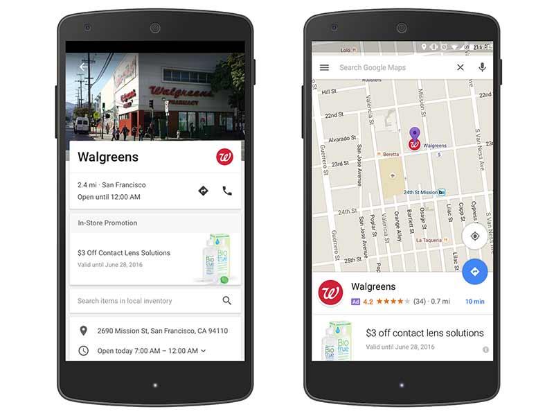 Anuncios en Google Maps por BitMarket.es